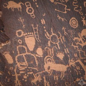 Newspaper Rock on Indian Creek Scenic Byway